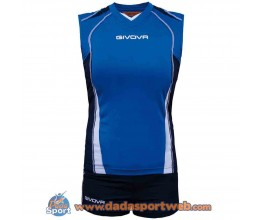 KIT BAGHER GIVOVA COMPLETI VOLLEY WOMAN